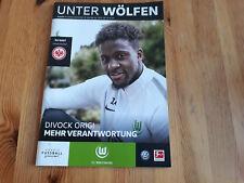 Programm VfL Wolfsburg - Eintracht Frankfurt 17/18
