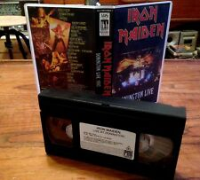 IRON MAIDEN - Donongton live 1992 - VHS / TAPE  NO CD LP DVD