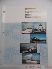 c.1976 Caterpillar 7200 Series Marine Trans Industrial Brochure Vintage Original