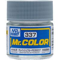 GSI CREOS GUNZE MR HOBBY Color C337 Grayish Blue FS35237 LACQUER PAINT 10ml NEW