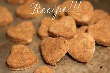 """☆Peanut Butter Dog Biscuits ( TWO""""RECIPES"""")☆Fur Babies Fur-vorites!☆"""