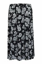 Calf Length Viscose Casual Plus Size Skirts for Women