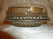 Bleikristall Crystal Large Crystal Bowl Made in West Germany Beautiful Design
