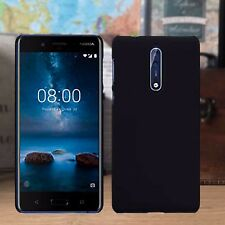 Nokia 8 Impact Displacement  Micro Thin Hardened Rubberised Case Back