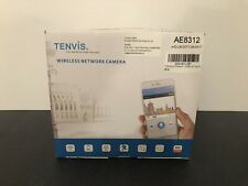 TENVIS Wireless Network Camera AE8312 Viewing Audio Motion Detector Security NEW