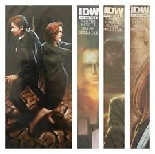 The X Files Comics Season 10 Issues 1, 2, 3 and 4 A IDW
