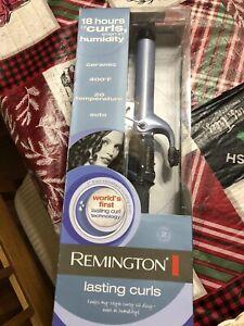 """Remington Ceramic Hair Curling Iron 1-1/2"""" C18125 Lasting Curls Auto Shutoff New"""