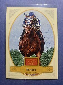 2012 PANINI GOLDEN AGE SECRETARIAT CARD #108 HORSE RACING TRIPLE CROWN  QNTTY