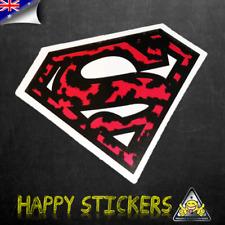 Superman Leopard Animal Skin Logo Luggage Car Skateboard Vinyl Decal Sticker
