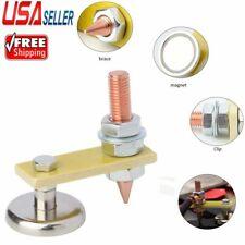 Welding Magnet Head Adjustable Magnetic Welding Support Ground Clamp Holder 2021