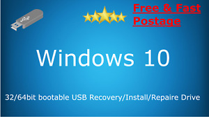 Recovery/Install/Repair USB Drive for Windows10 32/64bit tool