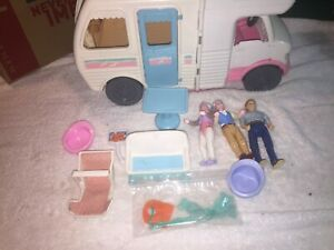Vintage 1998 Fisher Price Loving Family VACATION CAMPER RV Mobile Home