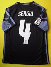 5+/5 REAL MADRID #4 SERGIO 2017 JERSEY SHIRT ADIDAS AI5143 13-14(L) YEARS THIRD
