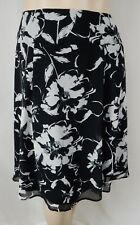 TS 14 Taking Shape Plus Size 16 Black With Silver Beading Evening Tunic Top
