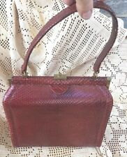 8a3e0a1c98753 Saks Fifth Avenue Snakeskin Bags & Handbags for Women for sale | eBay