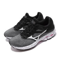 Mizuno Wave Rider 23 Grey Black White Womens Running Shoes J1GD1903-72