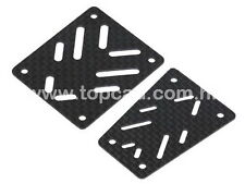 Axial EXO 90015 90024 Carbon Fibre Front & Rear Bumber Skid Plates