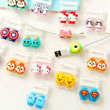 50pcsUSB Cable Earphone  line saver For IPhone  6 6s 6splus cable Protect stitch