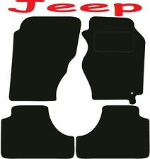 Tailored Deluxe Quality Car Mats Jeep Cherokee Liberty 2001-2008 ** Black **