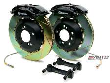 Brembo Rear GT Big Brake 4Pot Caliper Black 345x28 Slot Rotor Supra JZA80 93-98