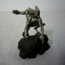 Marvel Comics Pewter Wolverine Statue