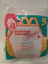 1996 MCDONALD'S HAPPY MEAL TANGLE #5 TWIST A ZOID  NEW IN PACKAGE NIB
