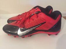 Nike Alpha Talon Elite 2 TD Football Cleats Men's Black Red 579545 006 Size 14