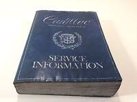 1980 Cadillac Service Information Manual S-1728 Repair OEM Original