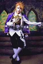Cosonsen Kuroshitsuji Black Butler Book of Circus Joker Cosplay Costume All Size