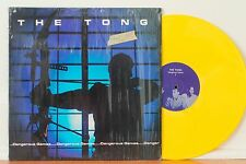 THE TONG Dangerous Games LP (Augustwolf AW100T1, 1981) VG++ in Shrink Post Punk