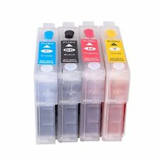 Non Oem Set Refillable Ink Cartridges for Epson S22 SX125 SX130 SX420W SX425W