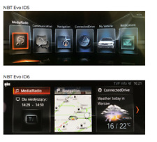 BMW NBT EVO iDrive 5 <=> iDrive 6 interface toggle by USB drive method