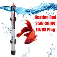 Heater Adjustable Aquarium Temperature Tank Fish Submersible Water Watt 50