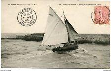 CPA-Carte postale-France- Port-en-Bessin - Sortie d'un Bateau de Pêche (CP1587)