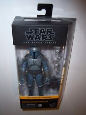 STAR WARS THE BLACK SERIES MANDALORIAN LOYALIST ACTION FIGURE MOC THE CLONE WARS