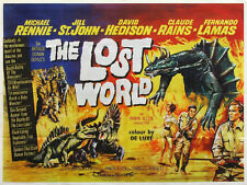 THE LOST WORLD 1960 (DVD) SCI-FI DINOSAURS CLAUDE RAINS