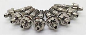 Titanium EXHAUST Manifold Stud Kit - MITSUBISHI EVO 1-9 4G63 GRADE 5 6AL-4V