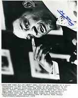 Willie Mays Jsa Authenticated Signed 8x10 Photo Autograph