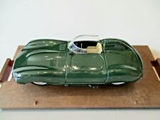 BRUMM  Models 1:43 r129 1954  JAGUAR D TYPE  Street Version!  GREEN    all good