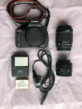 Canon EOS 600D DSLR Camera / with Two Lens EFS 18-55mm f3.5-5.6 / EF 50mm f1.8