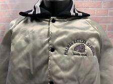 Pullman Railcar Services Danville Illinois Vintage Satin Jacket Size L Train