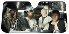 New Star Wars Millennium Falcon Car Truck Windshield Accordion Folding Sun Shade