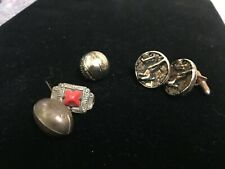 Lot of GF & Other Sports Related Jewelry-Football-Basketball-Golf-Cufflinks +