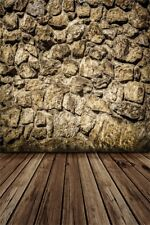 Stone Wall Studio 5x7ft Photography Backgrounds Retro Style Photo Backdrop Props