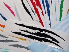 Universal Scratch Stripe Headlight Vinyl Decal Sticker c