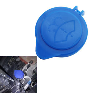Blue Windscreen Washer Bottle Cap Cover Lid Top Replacement For Ford Focus 11-15