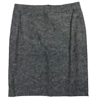NWT Banana Republic Gray A-Line Knee Length Skirt Women's Size 8