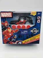 Black Widow Diecast Metal Jeep Model Kit Marvel 4x4 Rebels Jeep WranglerRubicon