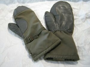 German Army Mitts Gloves Mittens Camouflage Warm Cold Weather ECW Surplus
