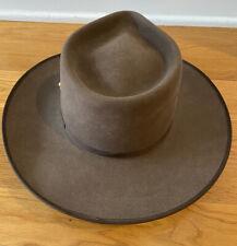 "Genuine Akubra Men's Hat Size 59 (7 3/8) (23"" circumference) Made in Australia"
